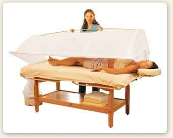 STEAM TREATMENT SWEDANA OR ADD ON TO ANY MASSAGE
